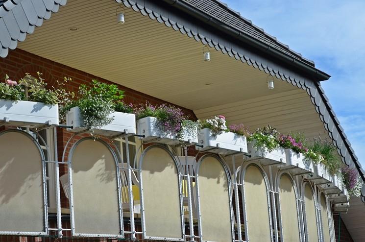 Berühmt überdachter Balkon - Ferienwohnung-Kettler SO59